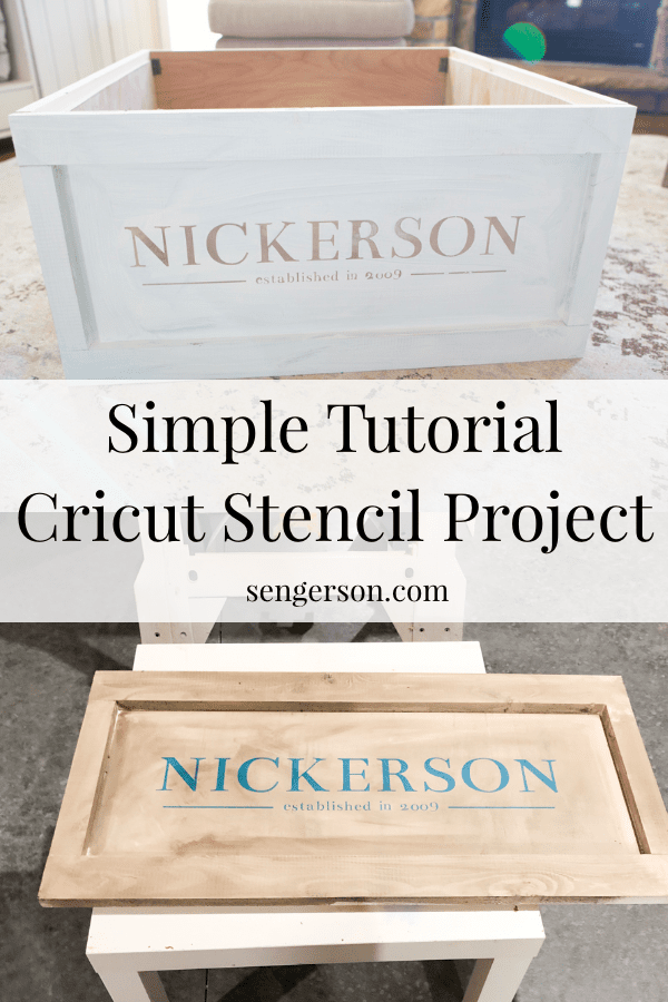 How to Make a Stencil with a Cricut Machine