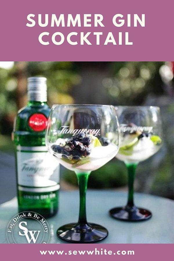 summer cocktail ideas pin