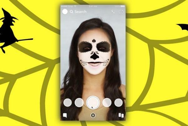 Des filtres Snapchat pour Halloween