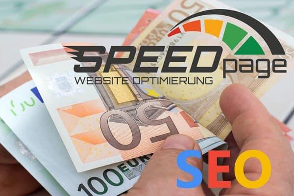 SPEEDpage - SEO Angebot und Kosten