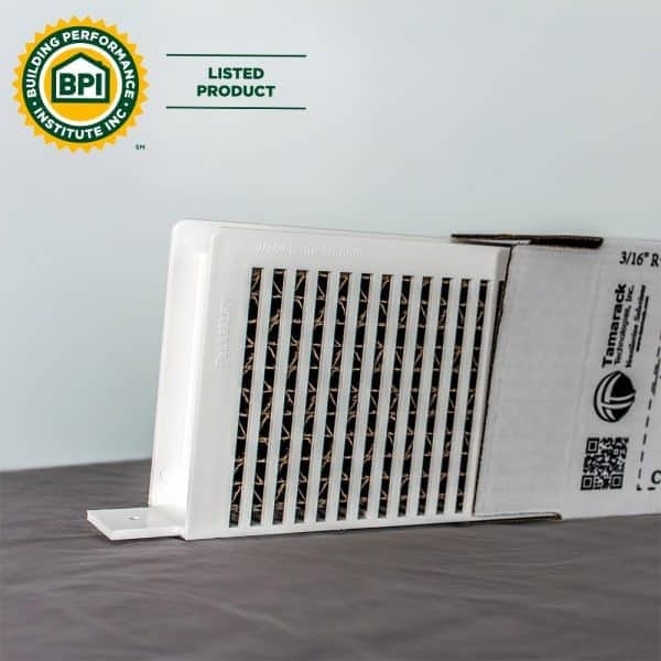 Perfect Balance Door Return Air Pathway Transfer Grille Door Vent Packaging and Door Grille with Baffle Material