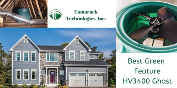 HV3400 Ghost Whole House Fan Best Green Feature HOBI Awards