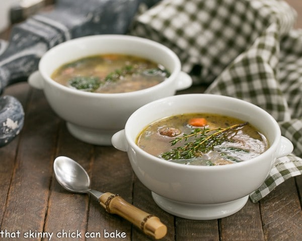 Italian Wedding Soup | An easy, lighter meal for a chilly weeknight!