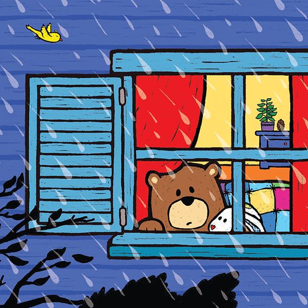 Stormy Night By Salina Yoon Illustration