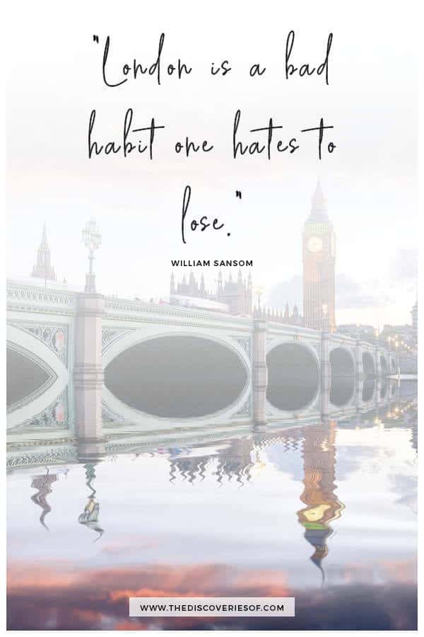 London is a bad habit