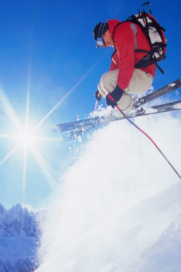 Skiing French Alps