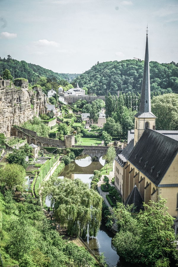 Views of Luxembourg City