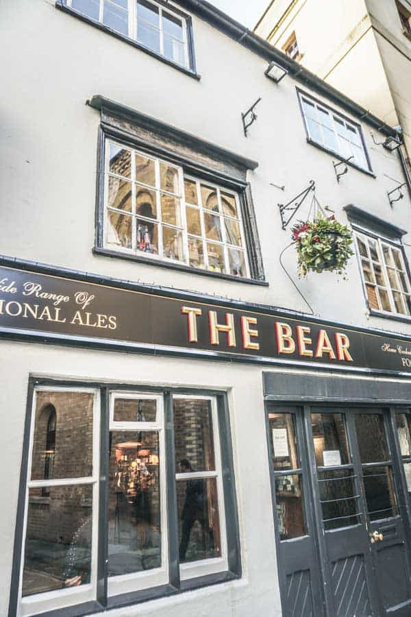 The Bear, Oxford