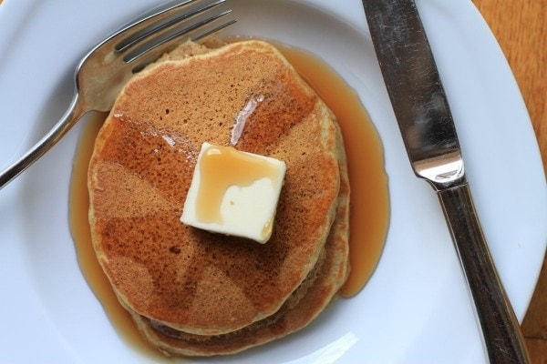 whole wheat buttermilk pancakes