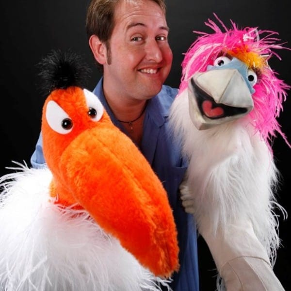 Kevin Johnson, AGT, Puppet, comedy