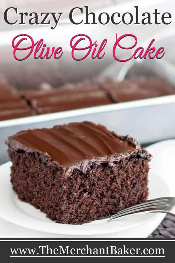 Crazy Chocolate Olive Oil Cake