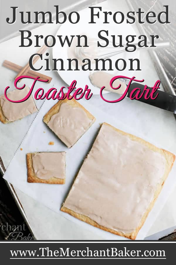 Jumbo Frosted Brown Sugar Cinnamon Toaster Tart