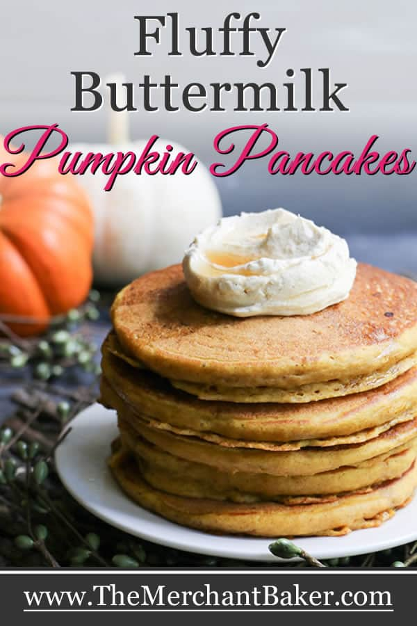 Fluffy Buttermilk Pumpkin Pancakes