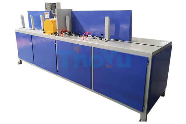 pallet deck board chamfer machine