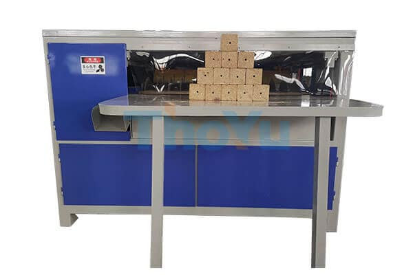 wood pallet block cutting machine