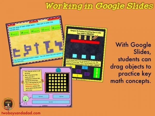 How to Effectively Use Google Slides in Elementary Grades - Two Boys