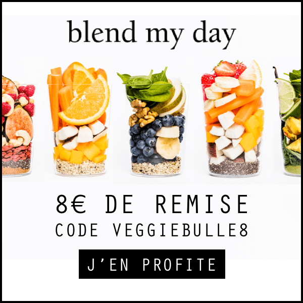 Code de réduction blend my day : VEGGIEBULLE8