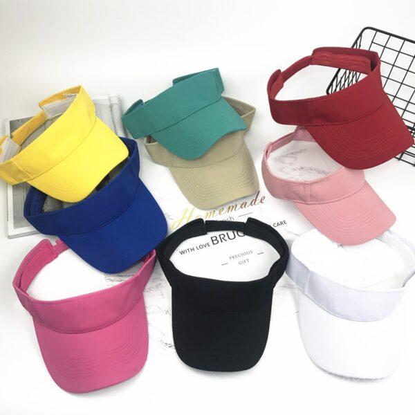 Summer-adjustable-sports-cap-wholesale-visor-hat