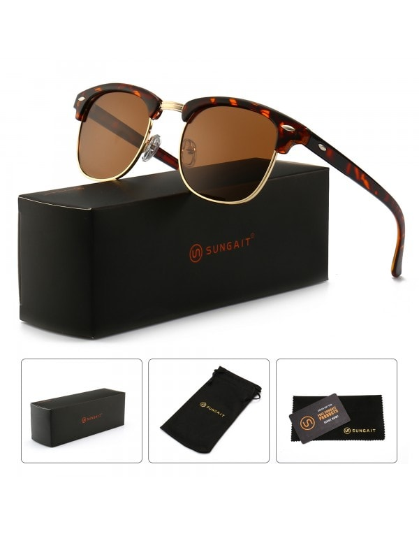 Square Frame Sunglasses for men