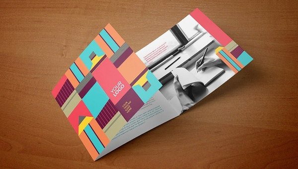 Geometric Brochure Templates