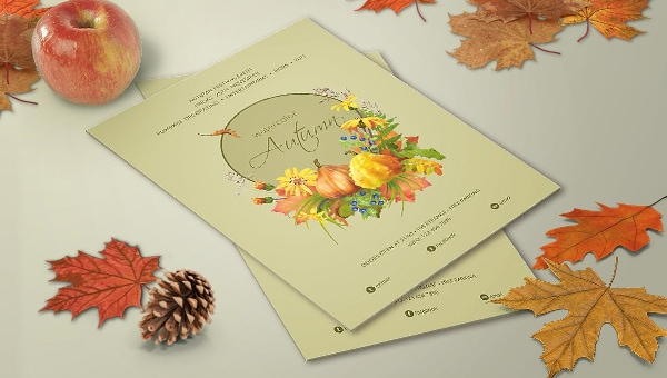 Autumn Poster Templates
