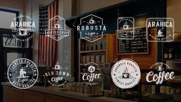 Cafe Logo Templates