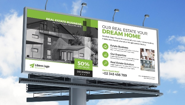 Real Estate Billboard Design
