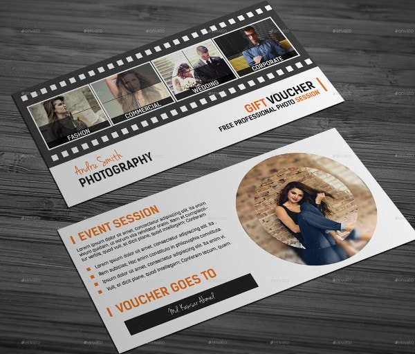 Best Photography Gift Voucher Templates Bundle