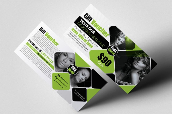 Creative Photography Gift Voucher Templates