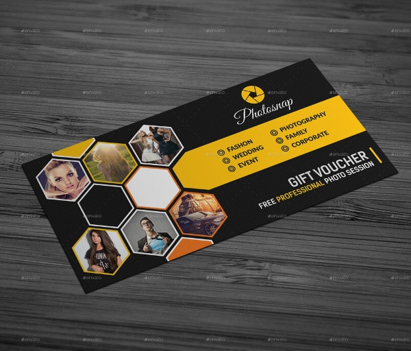 Photography Gift Voucher Bundle Design Template