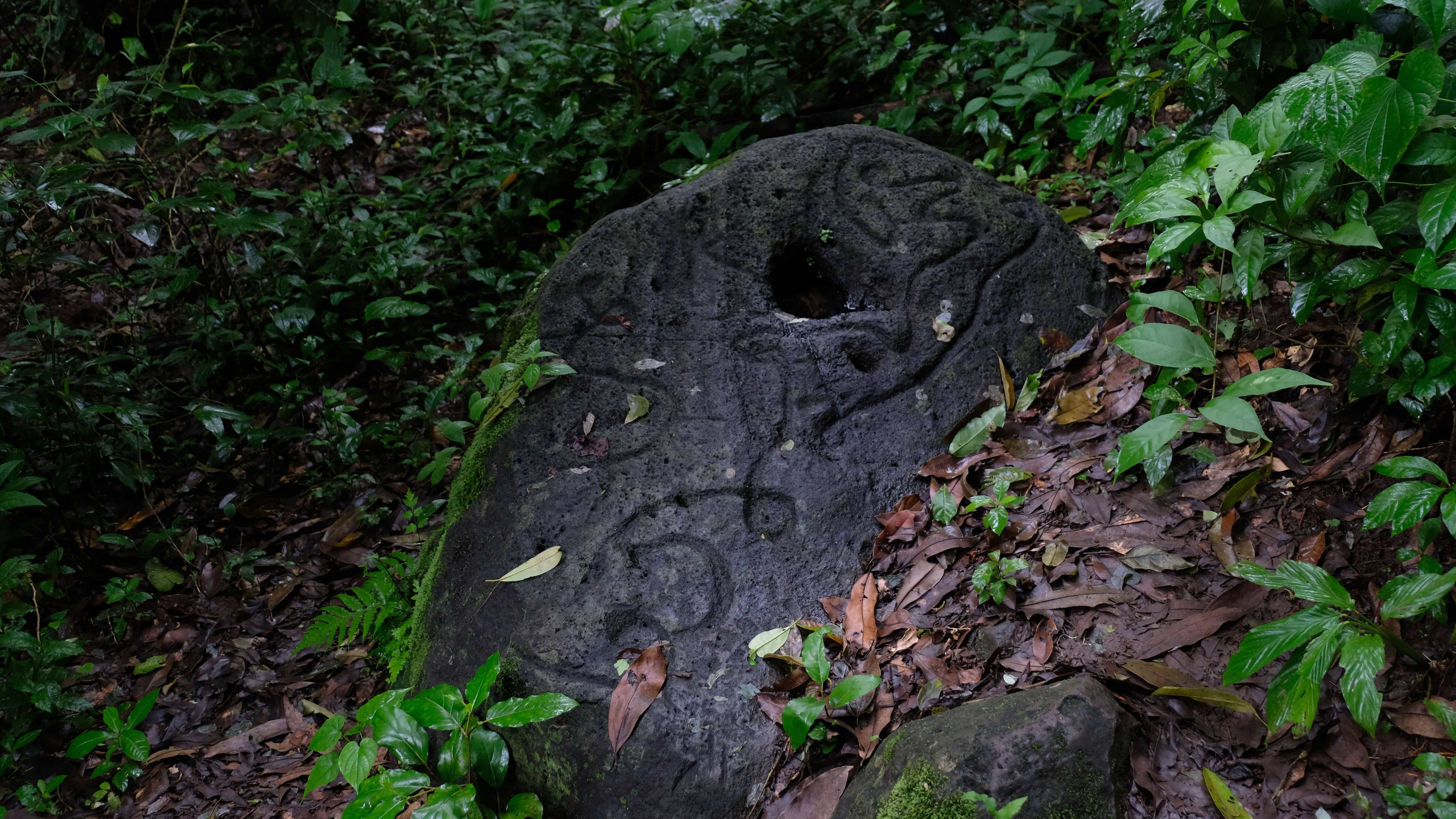 Petroglyph is on top things to do in Ometepe island.