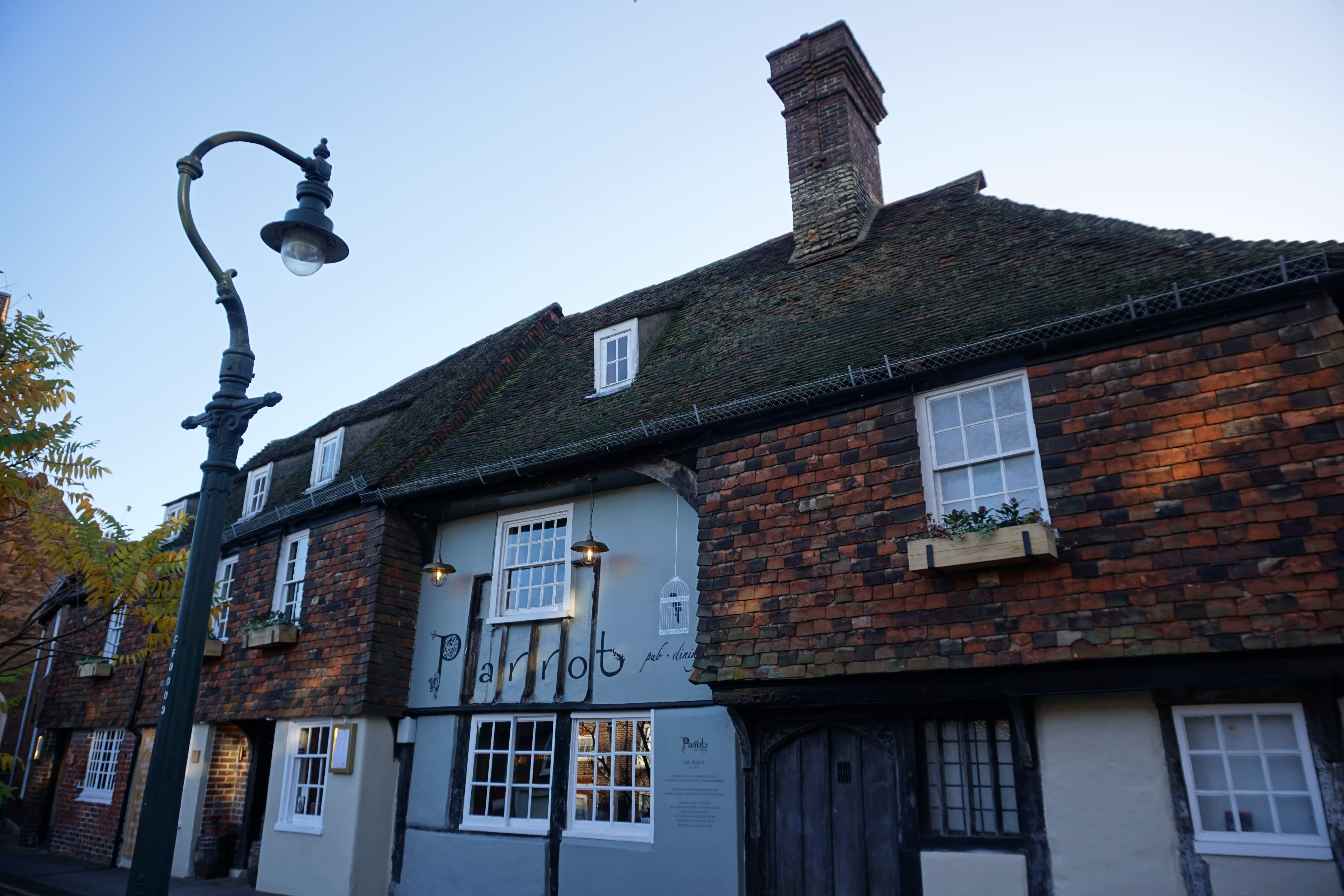 The Parrot, The Oldest Pub in Canterbury