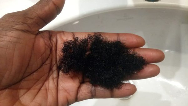how much hair should i shed on wash day