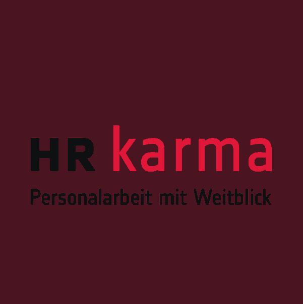 "Referenz Kunden Logo designplus ""HR Karma Personalarbeit"""