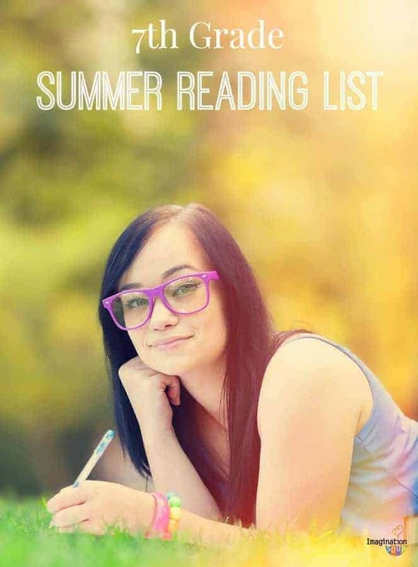 7th grade recommended book list for summer reading