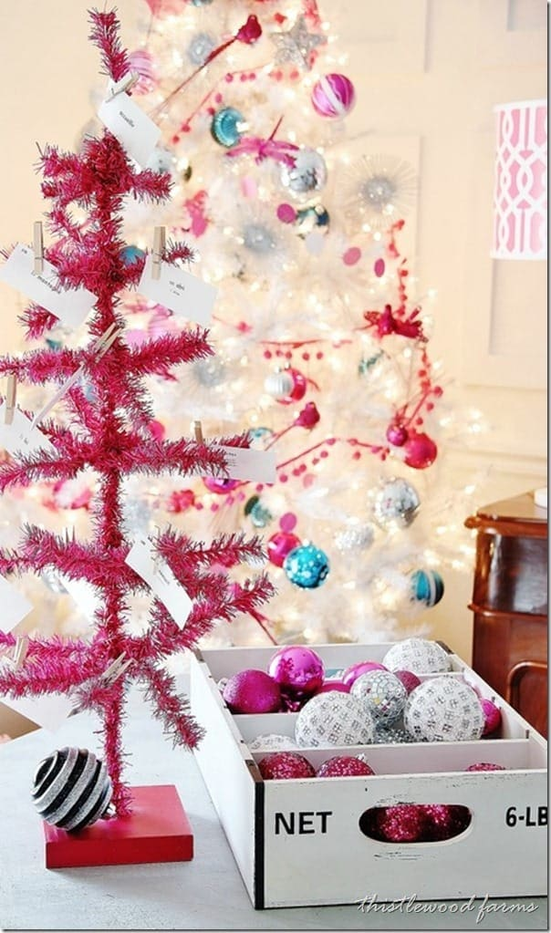 pink-and-blue-Christmas-white-tree