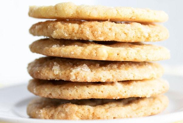 White Chocolate Lemon Cookies