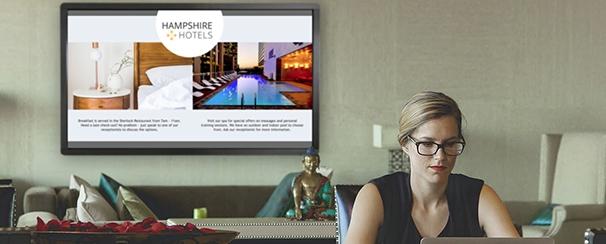 écran affichage digital dynamique pc integrer