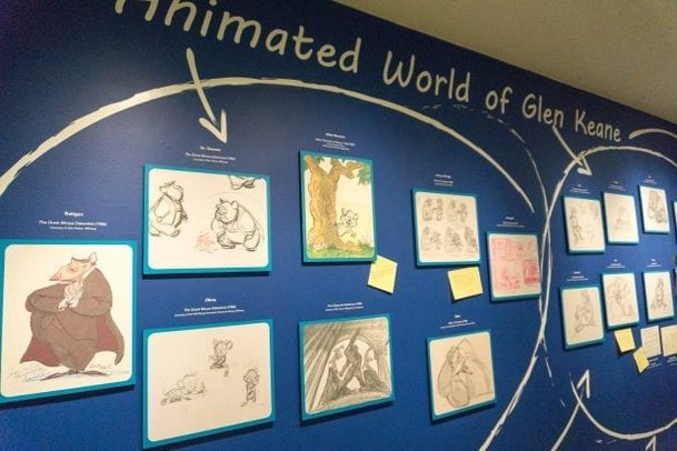 Glen Keane exhibit