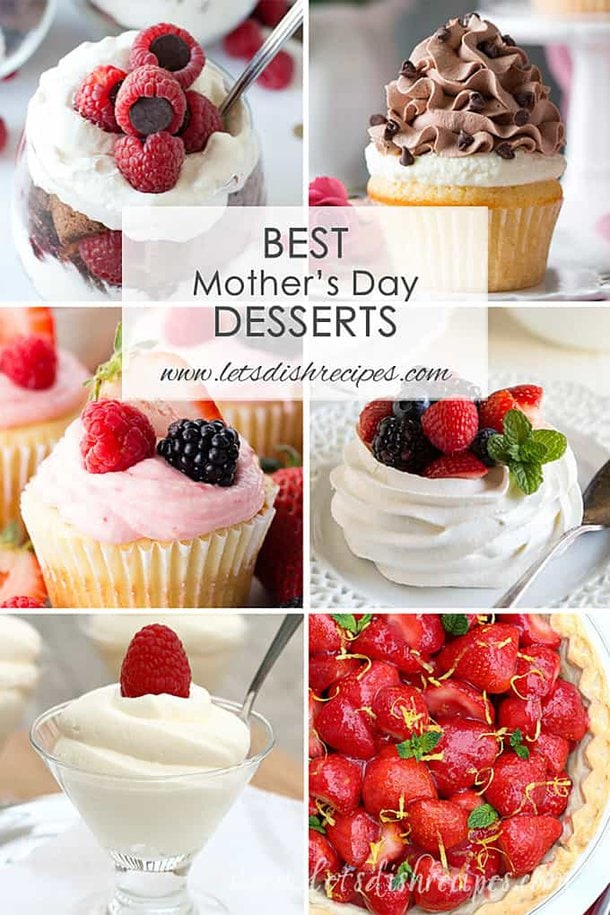 Best Mother's Day Desserts