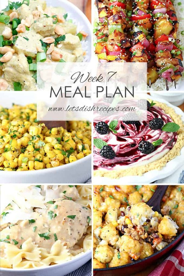 Easy Meal Plan 7