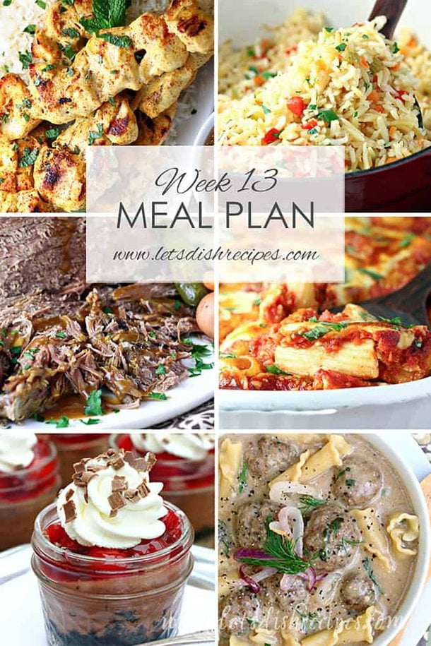 Easy Meal Plan 13