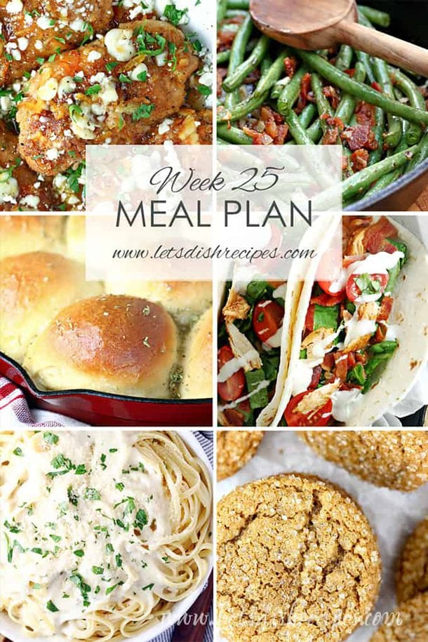 Easy Meal Plan 25