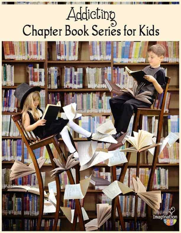 addicting chapter books for kids - all in a series