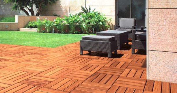 interlocking tiles patio is never a permanent one