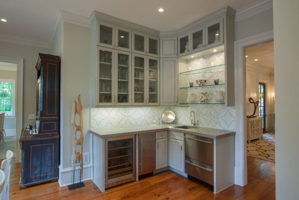hutch-style cabinet
