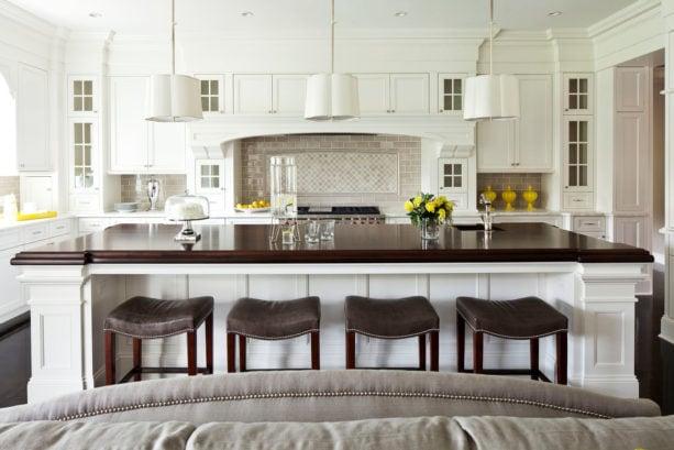 crackle grey jeffrey court collection tile backsplash behind stove only