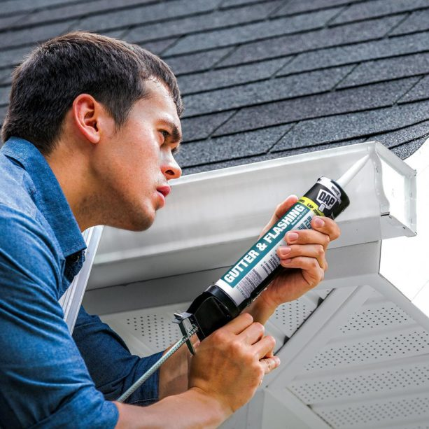 the use of butyl caulk in roofing