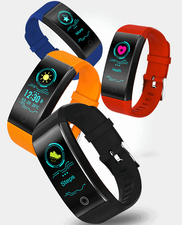 cheap fitness tracker with heart rate monitor
