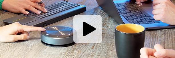 pieuvre micro haut-parleur sans fil télétravail